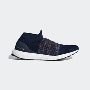 Adidas Ultra Boost Laceless Navy Blue Sneakers